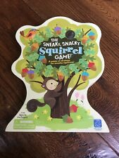 *EDUCATIONAL INSIGHT THE SNEAKY, SNACKY SQUIRREL GAME AGES 3+, 2-4 PLAYERS