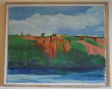 David K. Gordon Listed New York City USA Original Landscape Painting Palisades