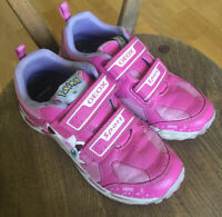 GEOX Girls Pink/Dark Pink 'Pokemon' Trainers EU 35