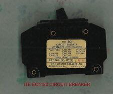 ITE EQ1120 CIRCUIT BREAKER 120/240 VOLT 20 AMP 1 POLE SIEMANS