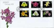 JERSEY 2011 JERSEY ORCHIDS FDC LOT R3625