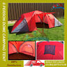 New 6 Person Man Family Dome Tent Mosquito Mesh Camping with THREE Rooms
