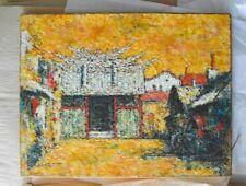 Jofu Uchida, oil on canvas, original, signed