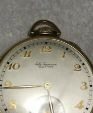 Antique Gold filled 10k Jules Jurgensen Pocket Watch