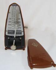 Wittner Taktell Piccolo Metronome Red West Germany Works Great