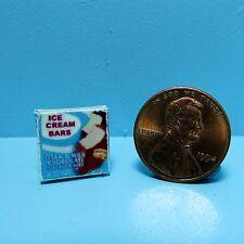 Dollhouse Miniature Replica box of Ice Cream Bars ~ HR54258