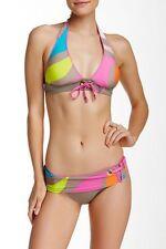 Trina Turk Pop Wave Sash Hipster Bikini Bottoms ONLY TT5B996 Size 12
