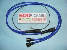 FIAT 500 F/L/R 126 FSM CAVI CANDELA BOBINA PANDA SUPER SILICONE BLU SPINTEROGENO