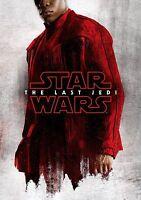 The Last Jedi FINN Character Poster Star Wars NEW Dec 17 FREE P+P CHOOSE UR SIZE