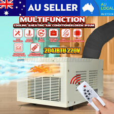 600W Air Conditioner Window Wall Heater & Cooler Portable Refrigerated Caravan
