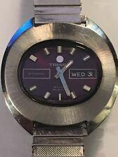 Retro De Colección Caballeros Reloj Automático Suizo Tressa Incabloc como 1906 1970s