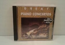 Great Piano Concertos: 60+ Minutes of Music (CD, 1989, MCR Classic)