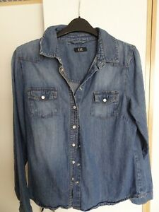 denim Shirt Size 12 by F&F