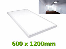 72W 1200x600 600x1200 mm Surface Mount LED Panel Light + Frame Day Cool White