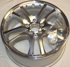 "GENUINE BRABUS MONOBLOCK S DOUBLE SPOKE 18"" 9.5J x 18H2 ALLOY WHEEL S12-958-50"
