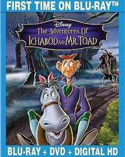Disney The Adventures of Ichabod and Mr. Toad (Blu-ray/DVD, 2014, 2-Disc Set)