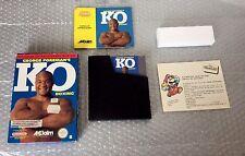 1992# NES NINTENDO PAL B GEORGE FOREMAN'S KO BOXING NIB FULL RARE