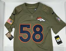 b3dff3a60 Nike STITCHED  58 Von Miller Salute to Service Broncos Football Jersey NWT   160