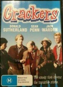 Crackers DVD - Donald Sutherland - Sean Penn - New & Sealed