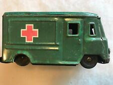 Vintage Tin Toy Ambulance Truck