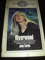 Riverwood by Jane Corby MAGNUM EASY EYE GOTHIC Paperback 1968
