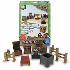 MINECRAFT OVERWORLD UTILITY PACK 30 Piece Set Paper Craft Building Toy