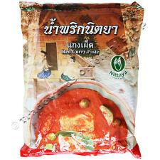 Nittaya curry rojo Pasta - 1kg