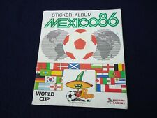 PANINI ~  MEXICO86 World Cup Sticker Album - 89% Complete