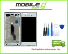 Vitre Tactile + Ecran LCD + Chassis Sony XA1 Et G3121 G3116 Blanc + Outils