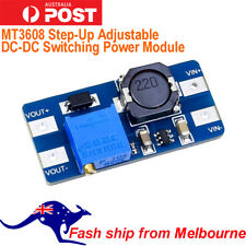 MT3608 Step-Up Adjustable DC-DC Switching Power Module Boost Converter AU Stock