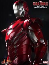 Hot Toys Iron Man 3 Silver Centurion Mark XXXIII MK 33 Mint/New SEALED Shipper!