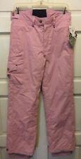 Body Glove Women' Ski Snowboard  Pants  Pink Waterproof Insulated Size Small NWT