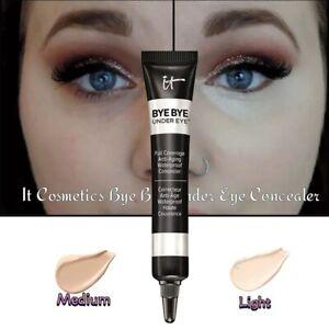 IT COSMETICS BYE BYE UNDER EYE Light & Medium Shades Maquiagem Profissional Comp