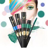 Rainbow Color Mascara Eye Lashes Curling 3D Mascaras Thick Lengthening Dense