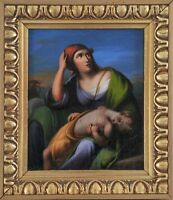 Ede Spiró (Hungarian, 1805-1856): Mother with her sleeping child,