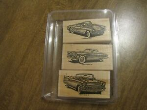STAMPIN UP CLASSIC CONVERTIBLES 2003 RUBBER STAMP SET NEW