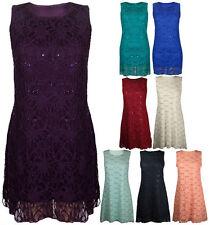 Sequin Party Floral Dresses for Women