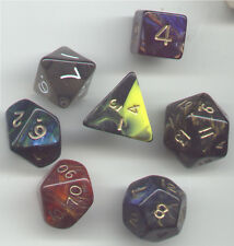 RPG Dice Set of 7 - Mix Dice Set