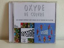 CD Démo 3 titres Oxyde de cuivre Manon qui / Desencontro certo / Neirda CDR
