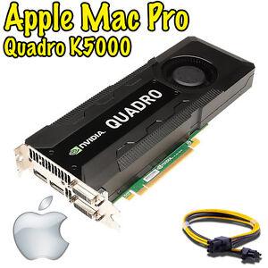  Nvidia Quadro K5000 4GB Apple Mac Pro - Mojave Catalina Big Sur ON SALE!!!