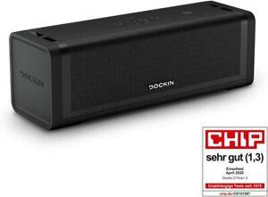 DOCKIN D FINE+ 2 Hi-Fi Bluetooth Speaker – Lautsprecher für Indoor & Outdoor
