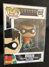 Batman The Animated Series Robin Dick Grayson Signed Bruce Timm BTAS Funko POP!