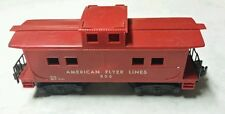 """""""American Flyer"""" AC Gilbert Caboose 806 Red #806 Vintage Antique Collectible"""