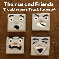 HORNBY/BACHMANN THOMAS AND FRIENDS CUSTOM TROUBLESOME TRUCK FACES X4 READ LOOK