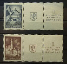 Yugoslavia c1940 Croatia Postage Stamps MNH - Rare! B1