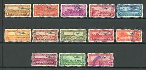 Guatemala Used Air Post Quetzal Selections: Scott #C47//C63 EXTERIOR Assortment