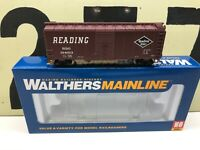 Walthers HO Scale RDG Reading Lines 40'AAR Boxcar RD #104013 RTR New