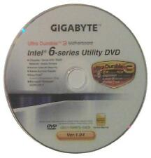 Original placa madre gigabyte controlador CD DVD Intel ga-h61ma-d2v Win XP 7 vista ~ 5