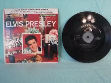 Elvis Presley Sings Christmas Songs, 1957 RCA 45EP, EPA 4108