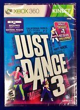 Just Dance 3 - XBox 360 Microsoft Kinect - New Still Sealed